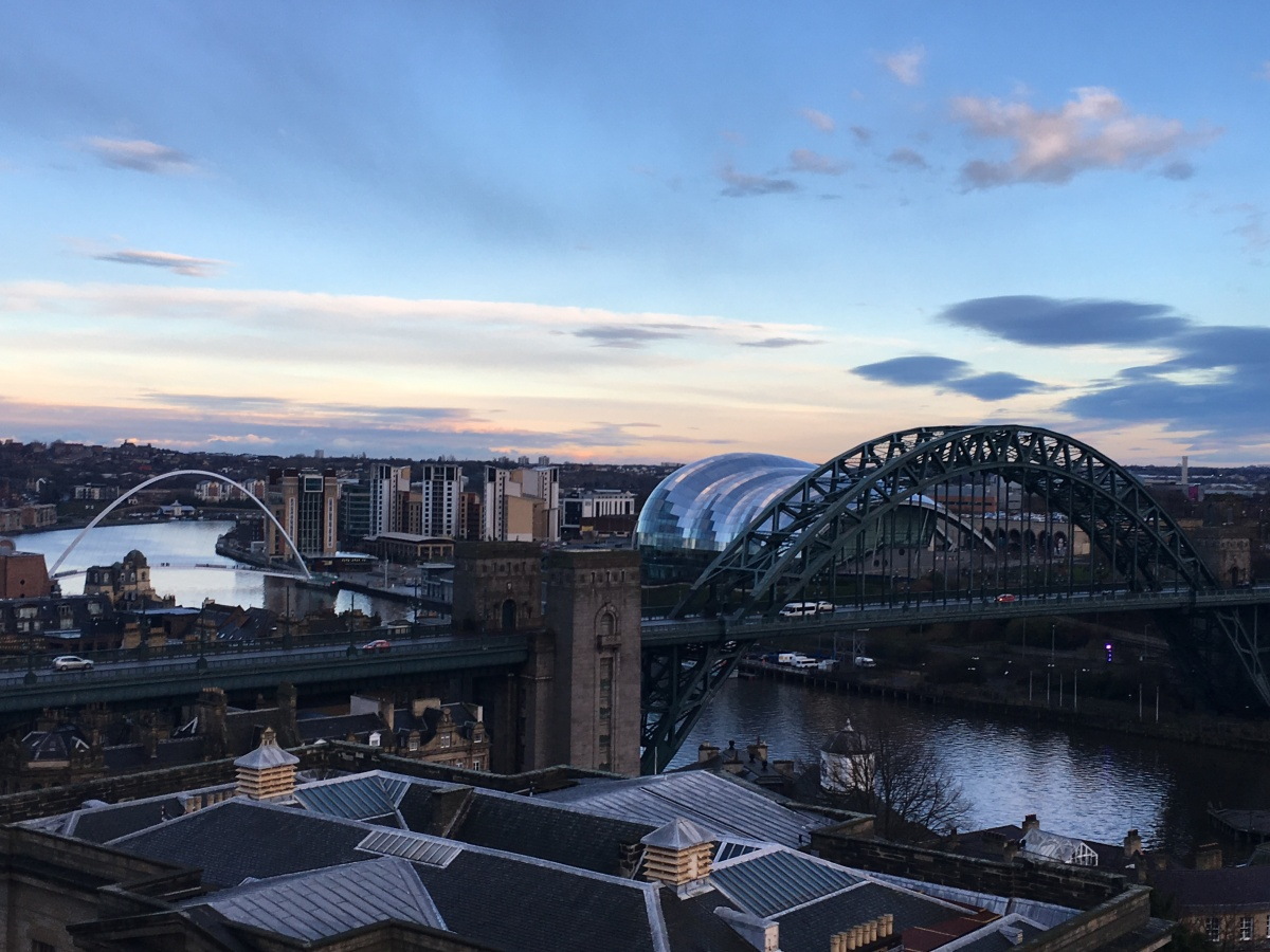 A weekend with the Geordies in Newcastle