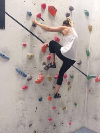 First time bouldering