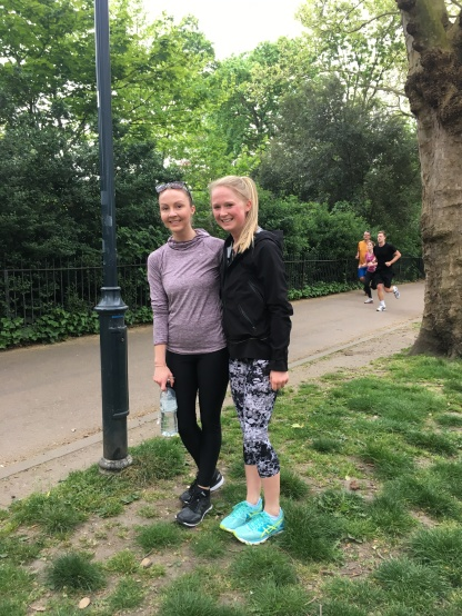 Park run in Fulham